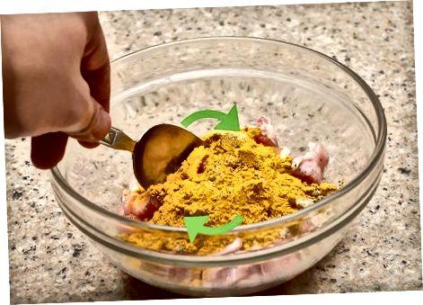 Izdelovanje jamajškega curry piščanca