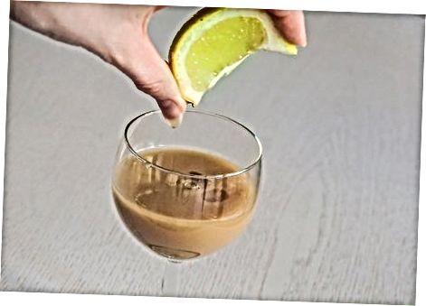 Mischen mit alkoholfreien Getränken