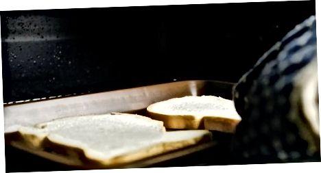 Lėtai skrudinta duona orkaitėje