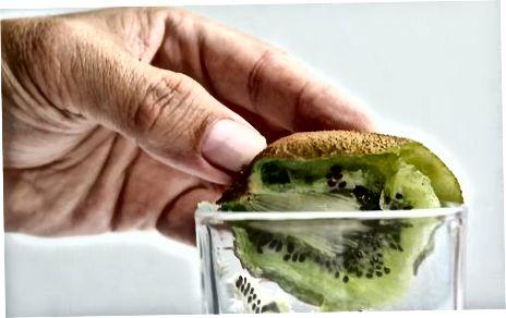 Peeling Kiwifruit