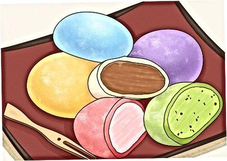 Duke shijuar akulloren Mochi në vetvete