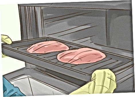 Notkun grillpönnu í ofninum