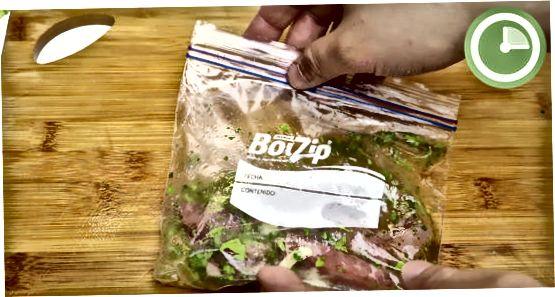 Marinant la teva carn amb ingredients tendres
