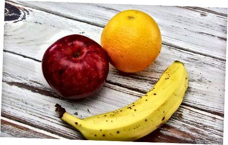 Lanches de frutas