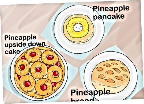 Ananasning boshqa usullaridan zavqlanish