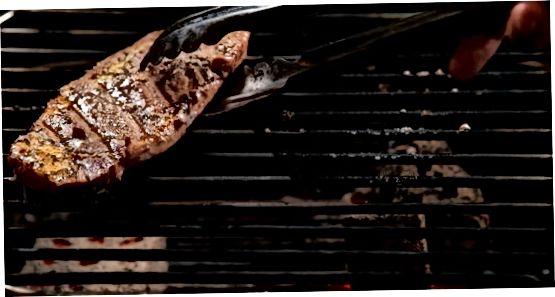 Приготування стейка на грилі