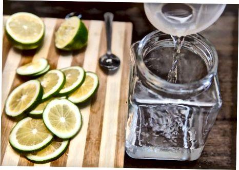 შესქელებული კირის წყლის მიღება