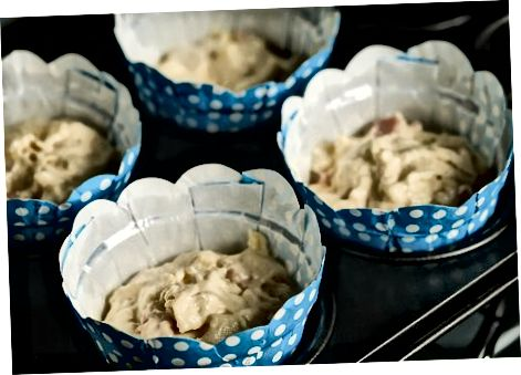 Skinke og ostemuffins