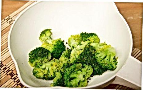 Ngrirja e Brokolit për ruajtje afatgjatë