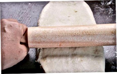 Fazendo massa folhada tradicional