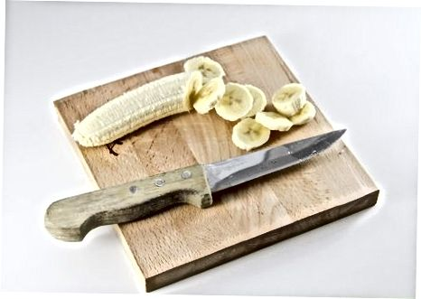 Hälsosam banansmoothie