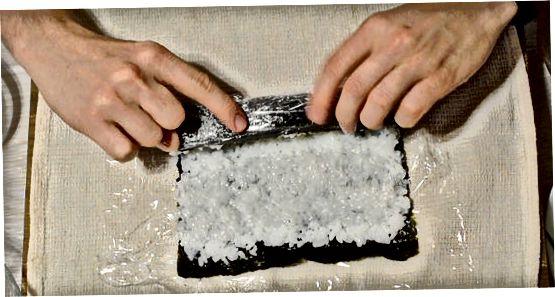Ролање и сервирање сушија