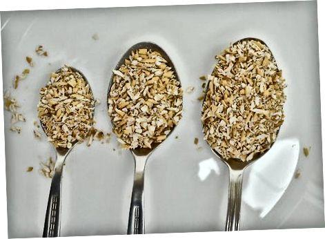 Afegint farina de civada als aliments