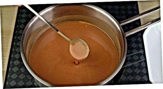 Utilització de farina i greixos per espessir els líquids