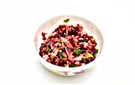 Cranberry Apple Salsa-ni qamchilash
