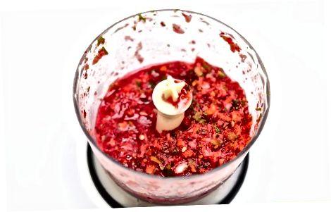 Cranberry SOS Salsa tayyorlash