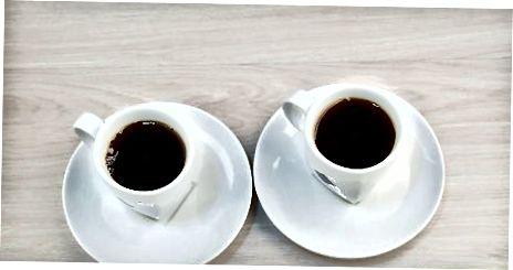 Kofe quyish va pishirish