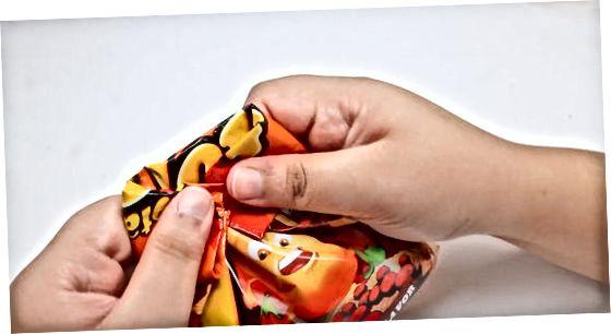 Zložite torbo za zapečatenje žetonov