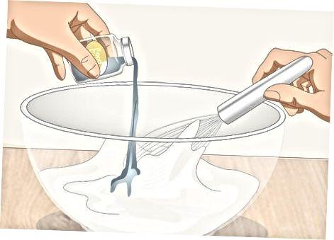 Lustër sheqeri me pluhur të thjeshtë