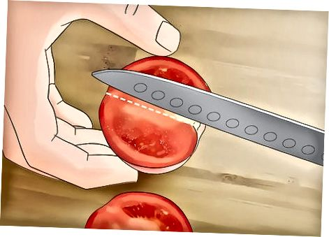 Tomatenschnitze machen