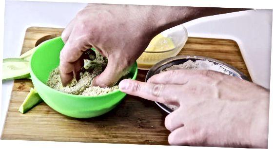 Praženje avokada v pečici
