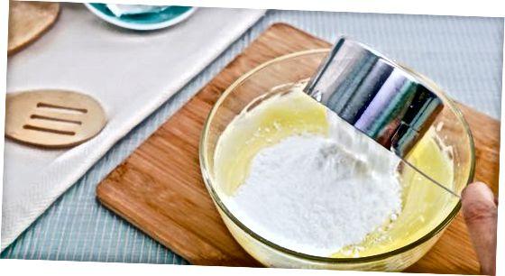 Приготування глазурі з маслом
