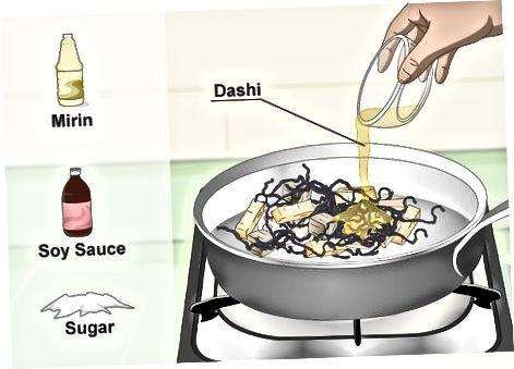 Припрема традиционалне Хијики салате