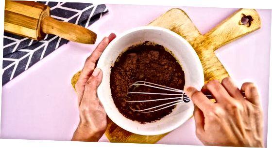 Šokoladinio užšalimo gaminimas