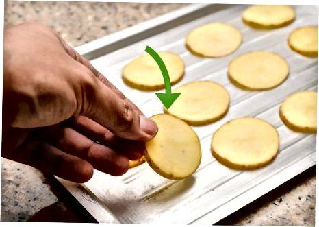 ساخت چیپس سیب زمینی پخته شده