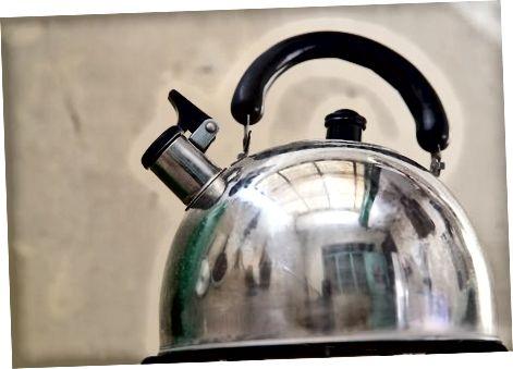 De methode van gekookt water