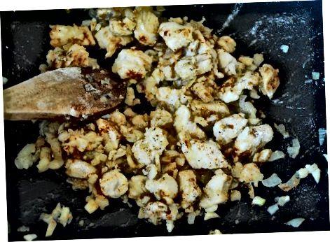 Een eenvoudige Chicken Stroganoff maken