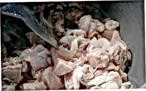 Cho'chqa go'shtini aromatik moddalar bilan pishirish