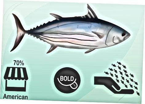 Вибір найкращого стейка з тунця