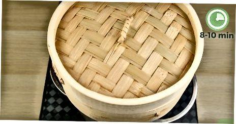 Израда парних филета од паре од бамбуса