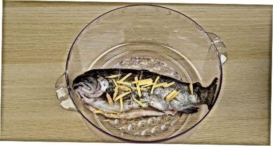 Кухање целе рибе у електричном паром
