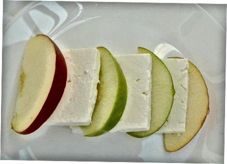 Додавање јабука у супе, салате и предјела