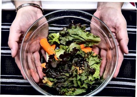 Salatani tugatish va yirtish