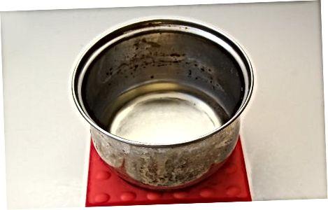 Koncentruoto cukraus vandens gaminimas