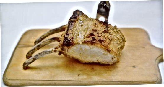 ساخت Roasted Rosemary Rack of Lamb