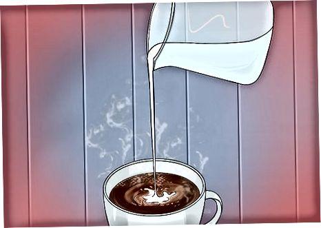दूध का भाप लेना