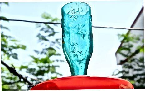 Cukraus vandens gaminimas kolibriams