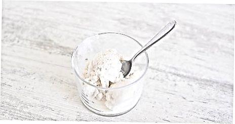 Gaminimas iš kokosų grietinėlės ledų