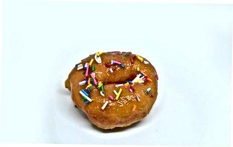 Geburtstagskuchen Donuts machen