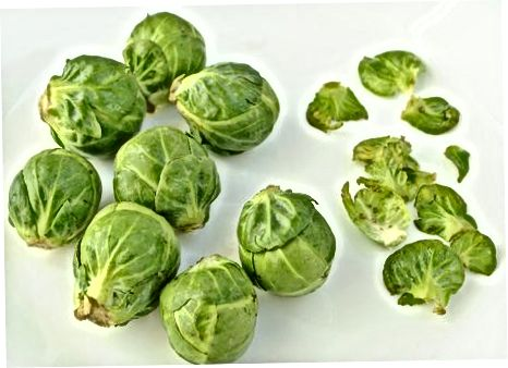 Mga Braised Brussels Sprout