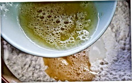 Karnemelk aebleskiver Deense pannenkoeken