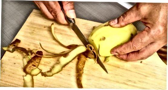 Нарізання картоплі