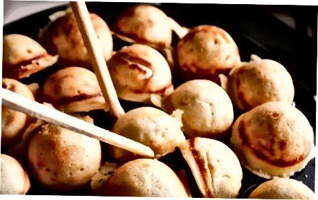 Sariyog 'aebleskiver Daniya pancakes