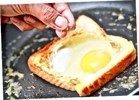 在篮子里做鸡蛋