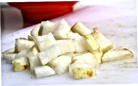 Përdorimi i dardhëve aziatikë në receta