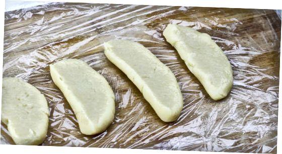 切り出したクッキー生地を解凍して焼く、さらに作る